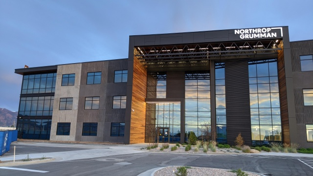 Northrop Grumman building in Roy, Utah