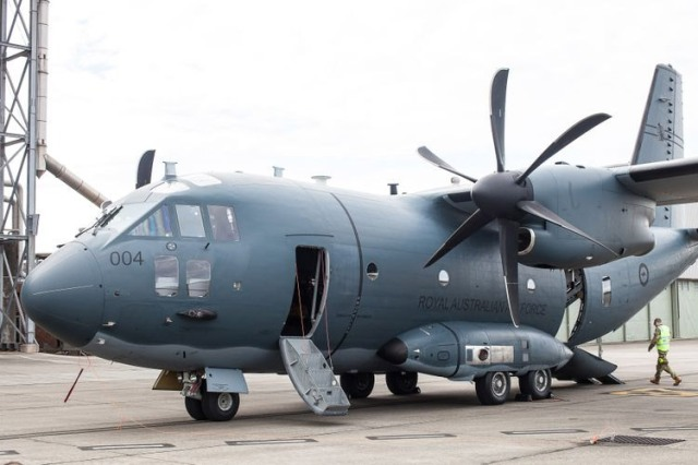 large military transport plane