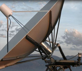 Joint Tactical Ground Station (JTAGS) dish