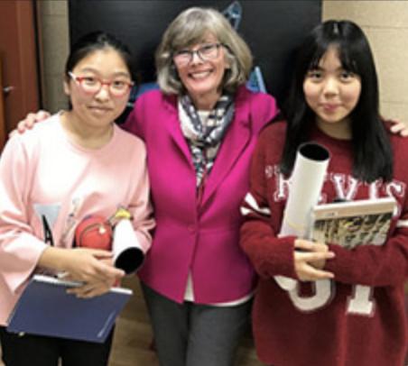 three women in Korea