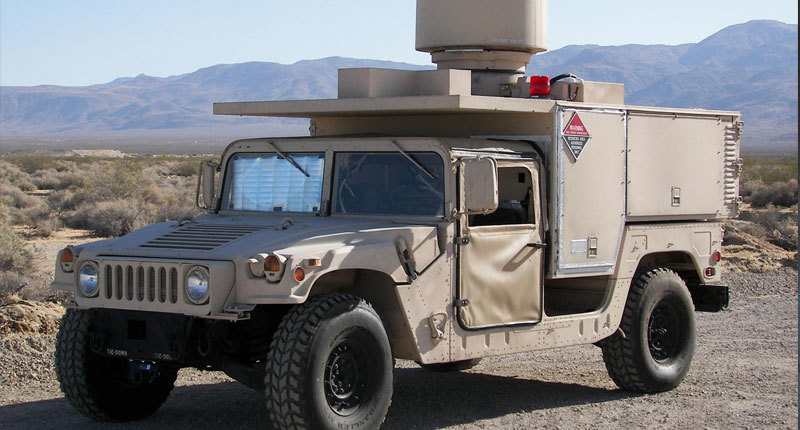 Close-up of large land vehicle