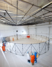 Reflector Assembly and Test Facility