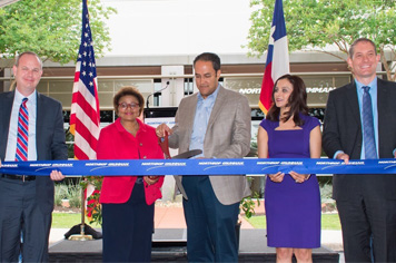 Photo of the San Antonio ribbon cutting