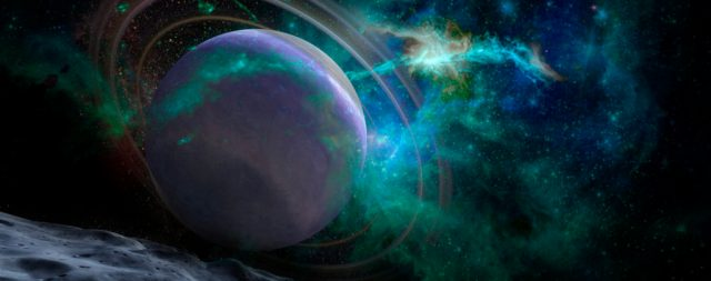 Planets, stars and galaxies in outer space