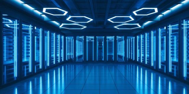 blue computer lab