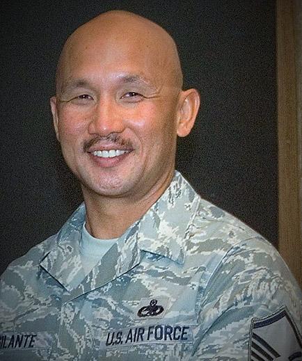 U.S. military headshot of male in uniform