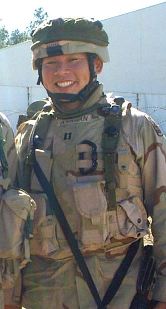 male soldier in uniform