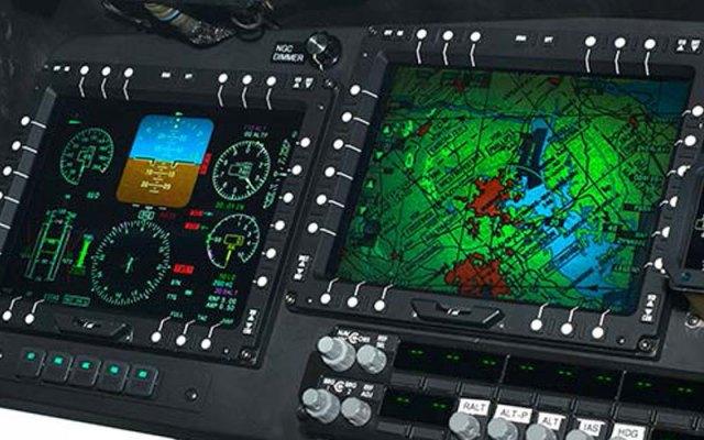 aircraft display monitors