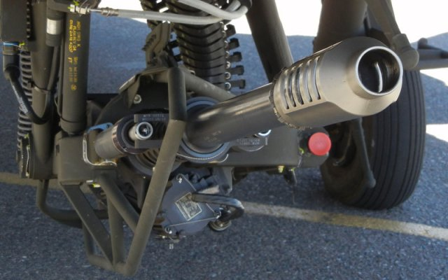 bushmaster mounted gun under aircraft