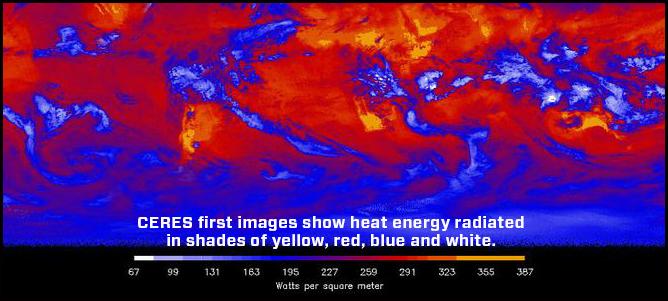 Energia emessa dalla Terra Credits: Northrop Grumman