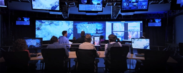Cyber Security Control Room