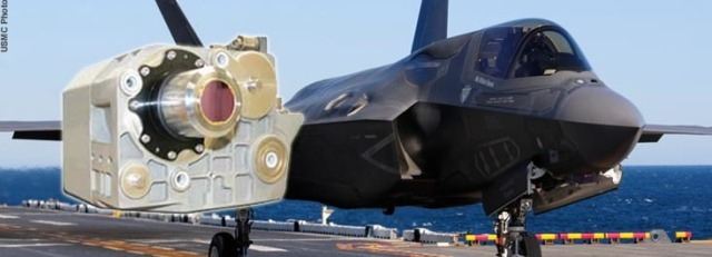 AN/AAQ-37 Distributed Aperture System (DAS) for the F-35