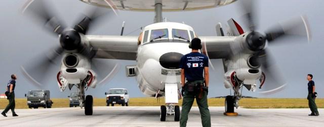 E-2C Hawkeye on runway