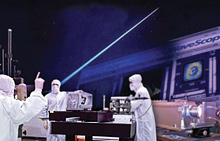 scientists in clean room