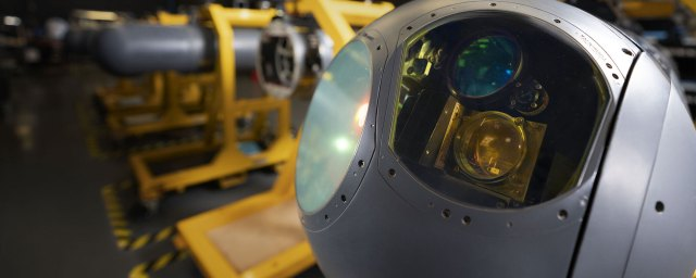 Electro-Optical and Infrared Sensors - LITENING Advanced Targeting Pod