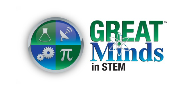 Great Minds in STEM logo