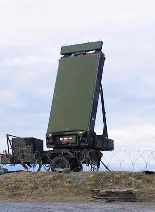 ground radar deployed