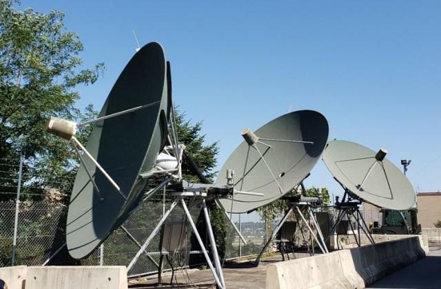 missile warning radar dish