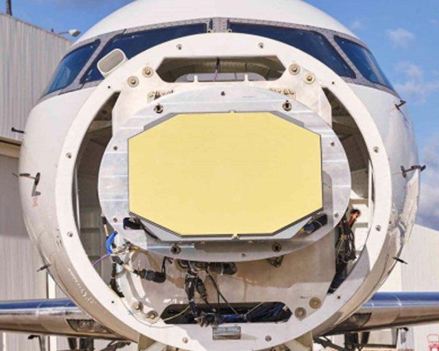 Radar System on front of jet
